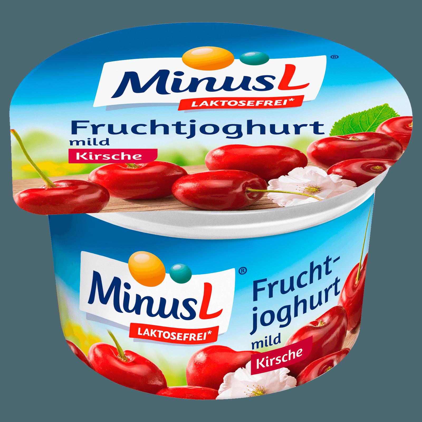 MinusL Fruchtjoghurt Kirsch 150g