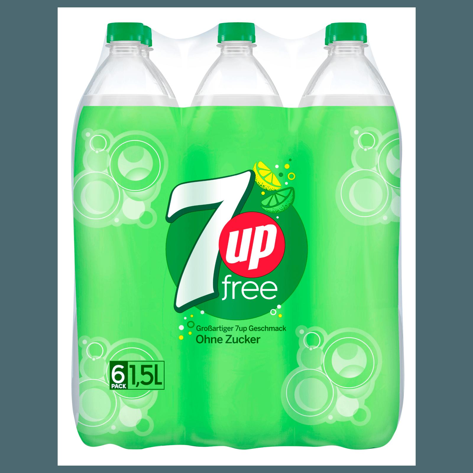 7Up Free zero sugar 6x1,5l bei REWE online bestellen!