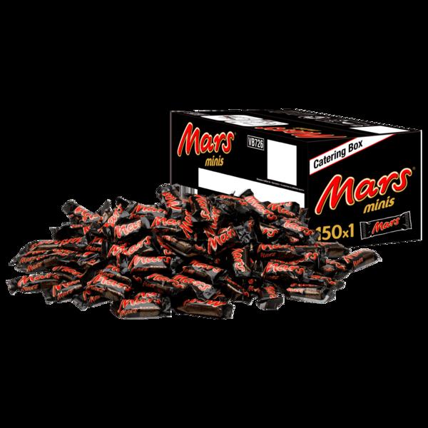 Mars Minis 150 Schokoriegel 2,7kg