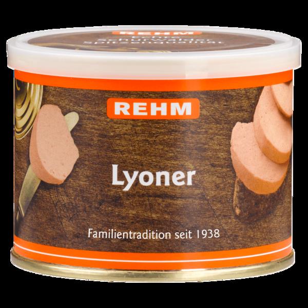 Rehm Schurwalder Lyoner 200g