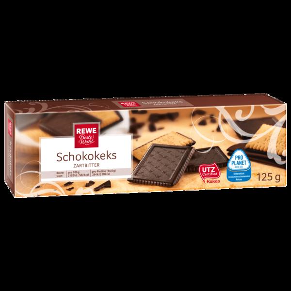 REWE Beste Wahl Schokokeks zartbitter 125g