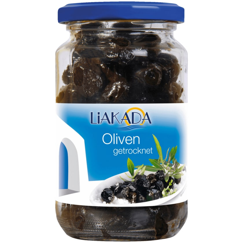 Liakada Manisa-Oliven schwarz getrocknet 230g