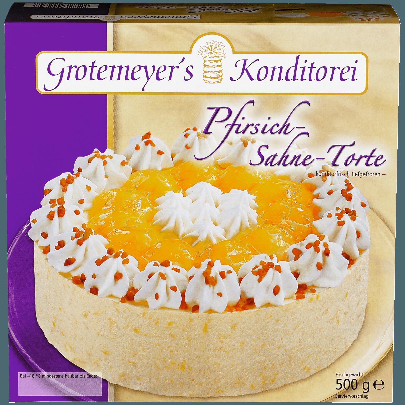 Grotemeyer Pfirsich Melba Torte 500g Bei Rewe Online Bestellen