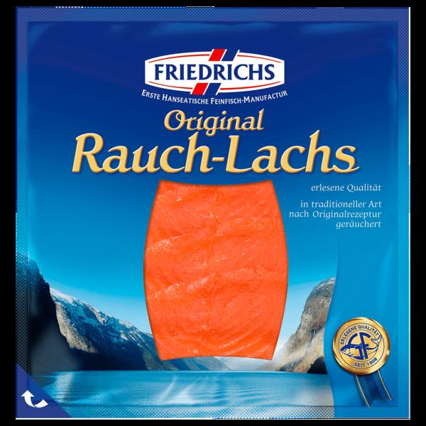 Friedrichs Räucherlachs in Scheiben 50g