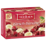 Teehaus Kirsch-Banane 90g, 40 Beutel