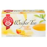 Teekanne Weißer Tee Mango-Zitrone 25g, 20 Beutel