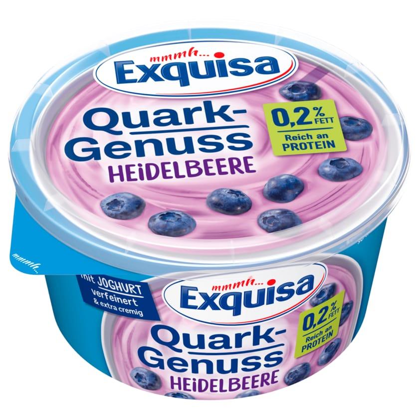 Exquisa QuarkGenuss Heidelbeere 0,2% 500g