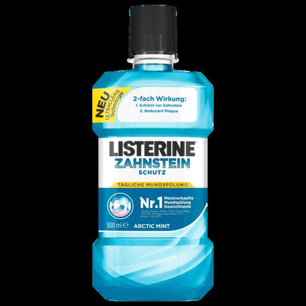 Listerine Tägliche Mundspülung Zahnsteinschutz 500ml
