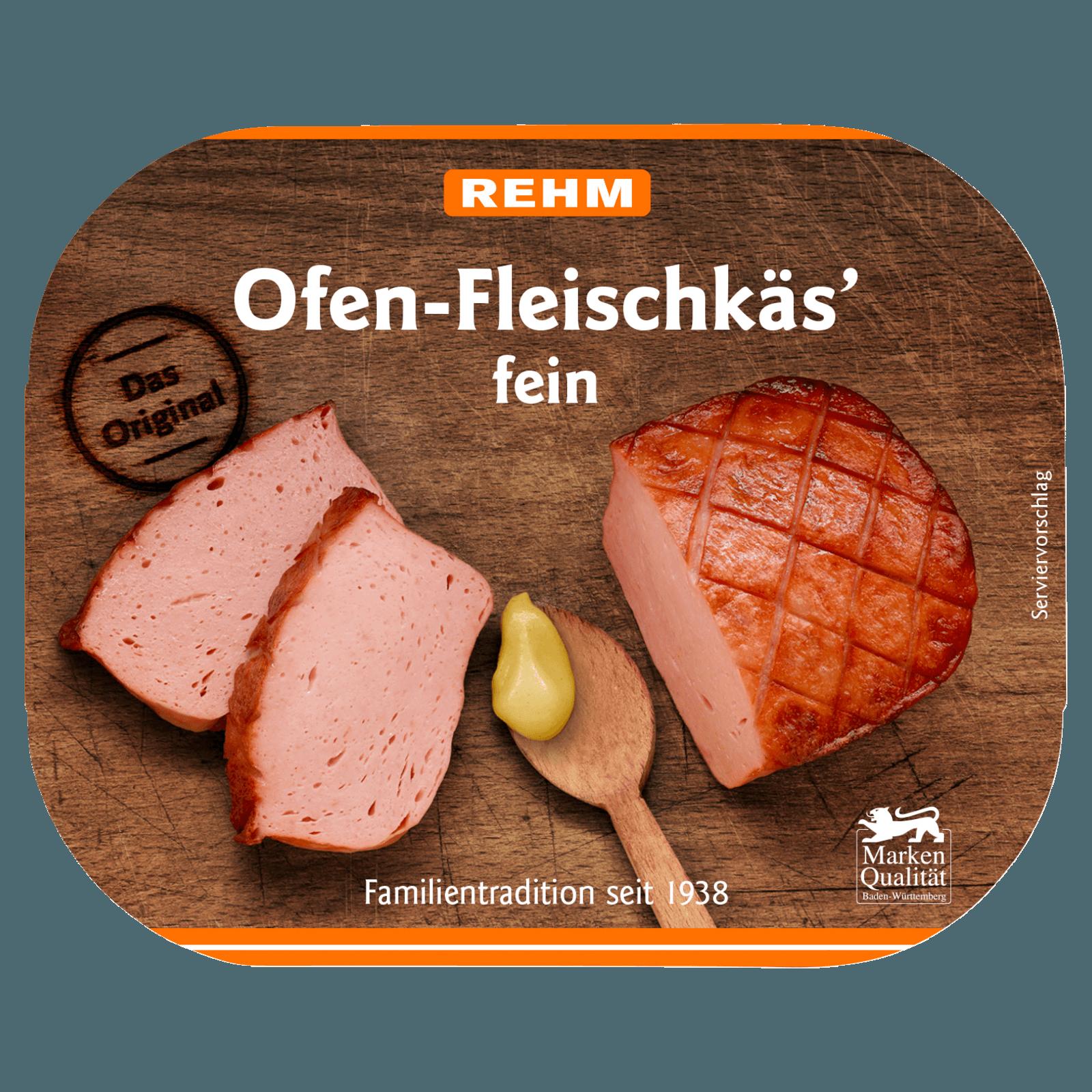 Rehm Ofen-Fleischkäs' fein 220g