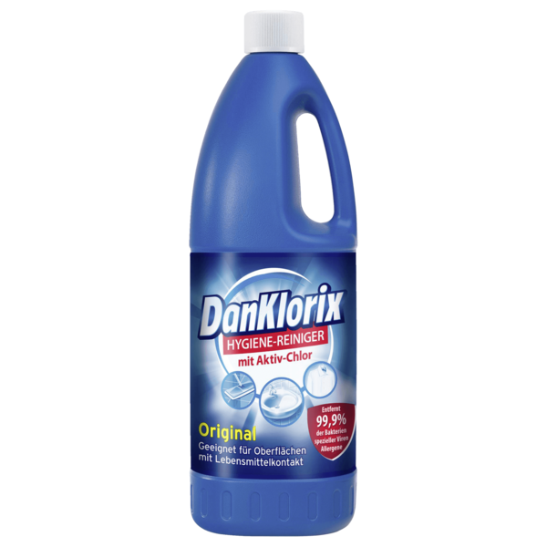DanKlorix Hygienereiniger mit Chlor 1,5l