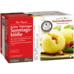 Heichelheimer Echte Thüringer Sonntagsklöße 600g, 6 Stück