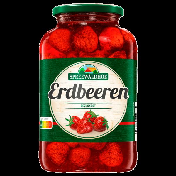 Spreewaldhof Erdbeeren gezuckert 720ml