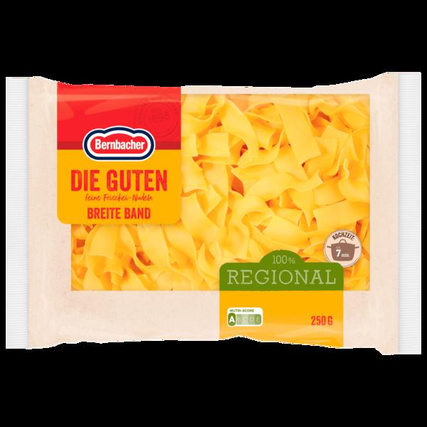 Bernbacher Die Guten Breit-Bandnudeln 250g