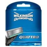 Wilkinson Sword Quattro Klingen 8 Stück