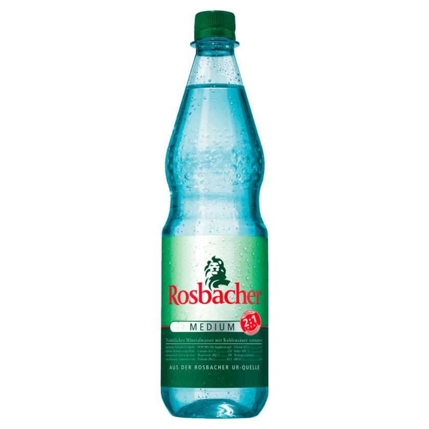 Rosbacher Mineralwasser Medium 1l
