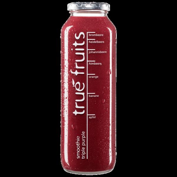 True Fruits Smoothie triple purple 750ml