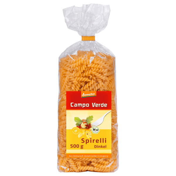 Campo Verde demeter Bio Dinkelspirelli 500g