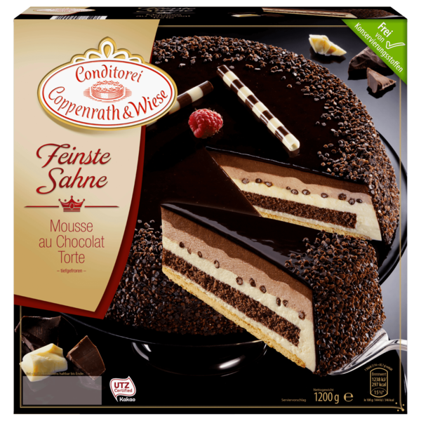 Coppenrath & Wiese Feinste Sahne Mousse au Chocolat 1,2kg