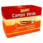 Campo Verde demeter Bio Vollkorn Knäckebrot mit Dinkel 250g