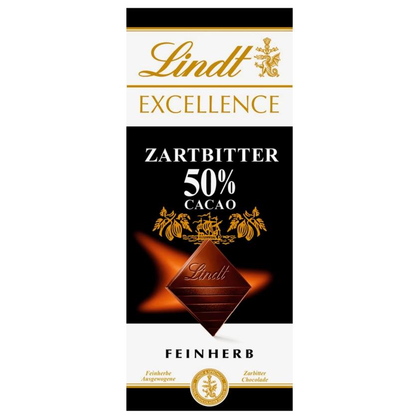 Lindt Excellence Schokolade 50% Cacao 100g