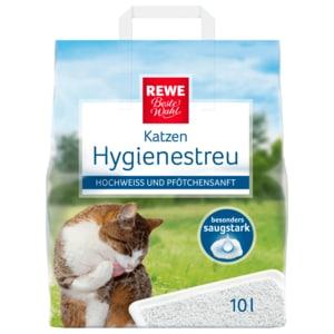 REWE Beste Wahl Katzen Hygienestreu 10l