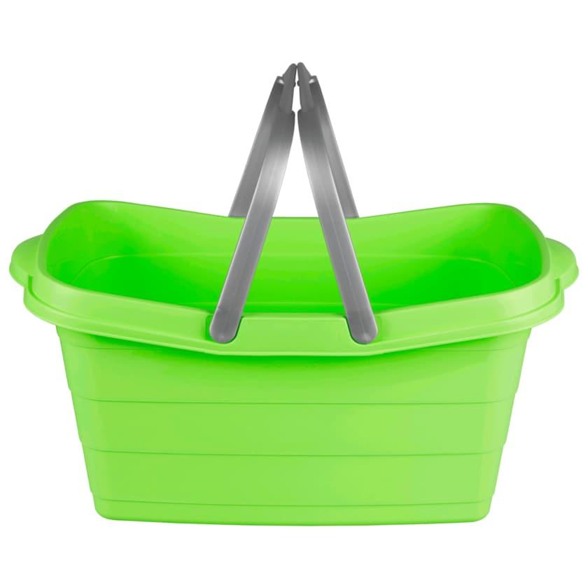 Wäschewanne mit 2 Henkeln grün