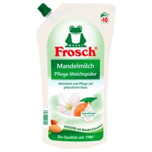 Frosch Weichspüler Mandelmilch 1l, 40WL