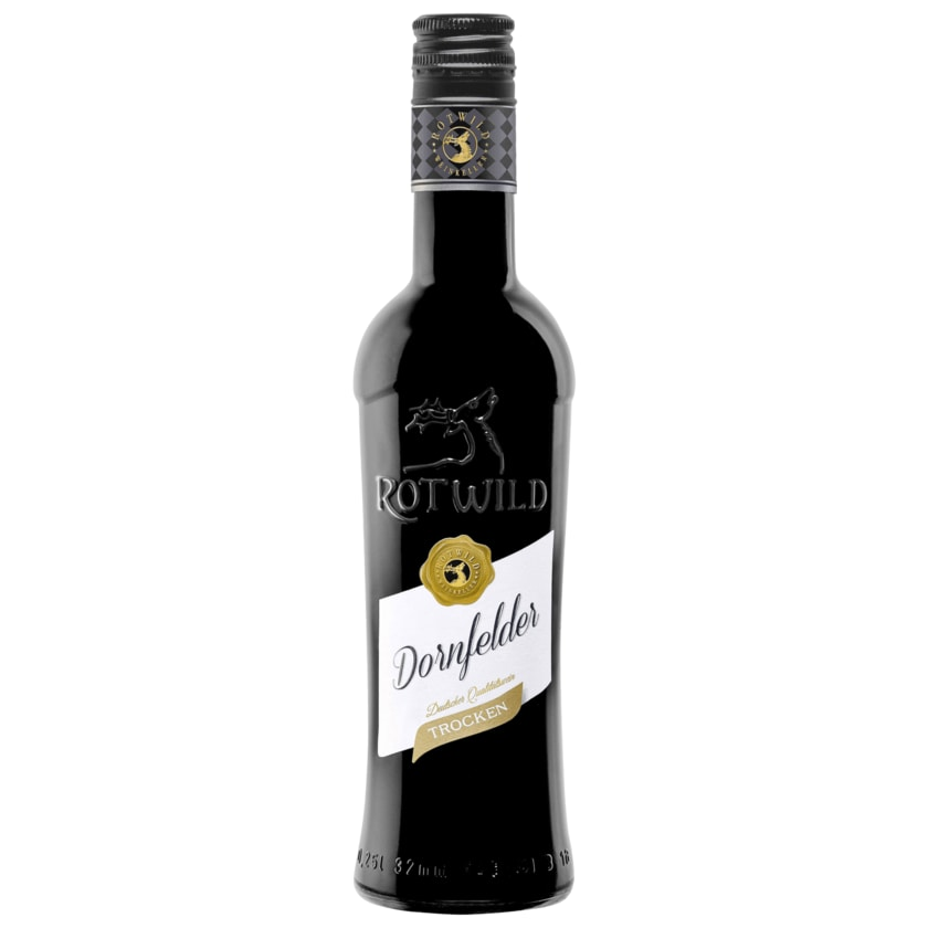Rotwild Rotwein Dornfelder QbA trocken 0,25l