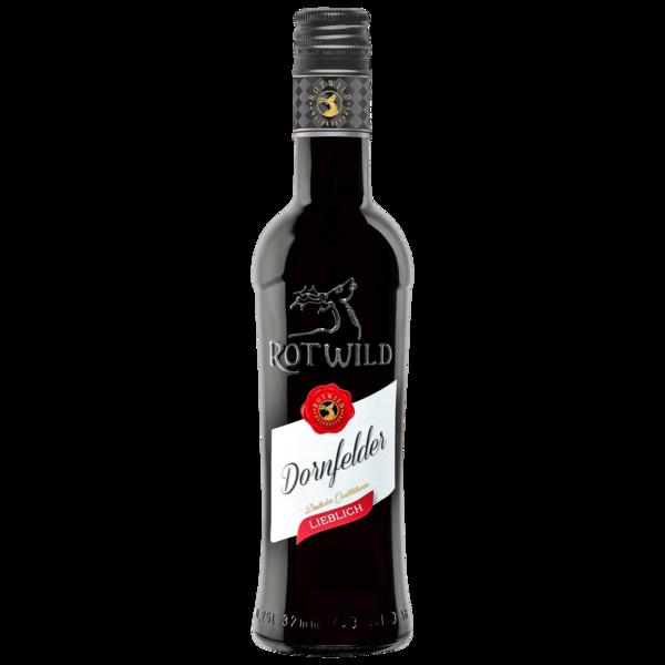 Rotwild Rotwein Dornfelder QbA lieblich 0,25l