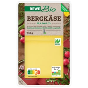 REWE Bio Bergkäse 150g