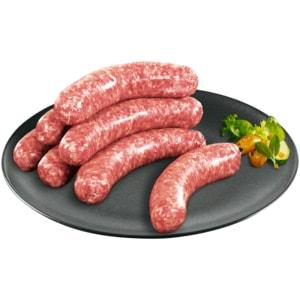 Grobe Schweine-Bratwurst
