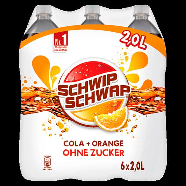 Schwip Schwap Colamix ohne Zucker 6x2l