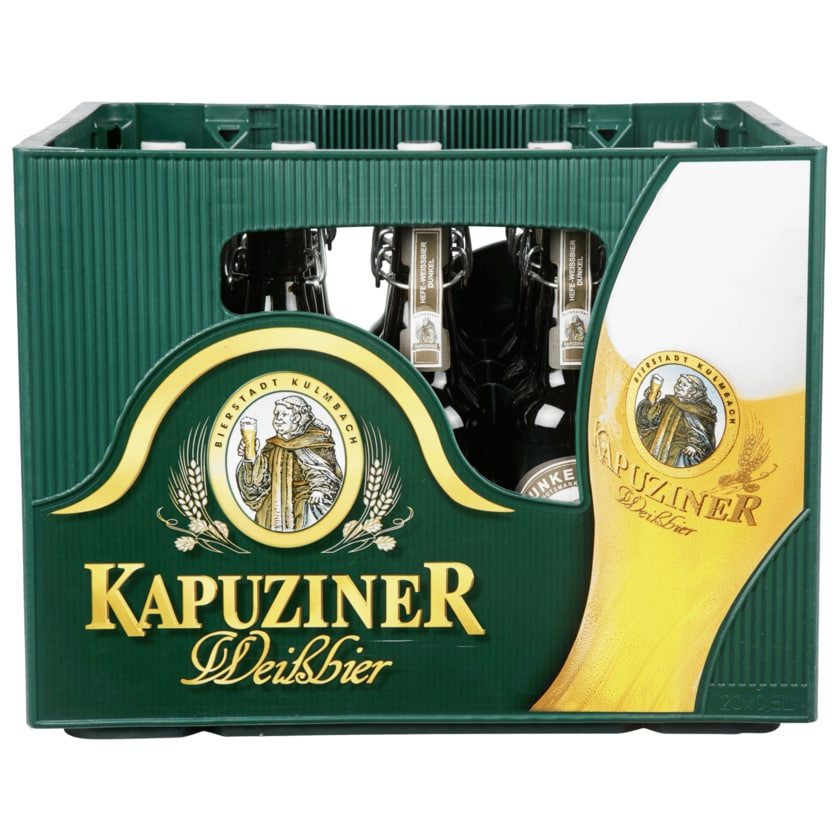 Kapuziner Hefe-Weißbier dunkel 20x0,5l
