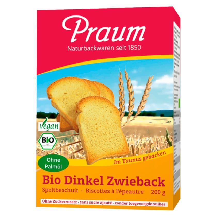 Praum Bio Dinkel Zwieback 200g