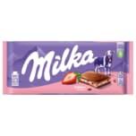 Milka Tafel Erdbeer-Joghurt 100g