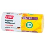 Pely Multi-Zugbandbeutel 35l, 20 Stück
