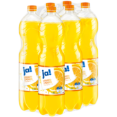 ja! Orangen-Limonade 6x1,5l