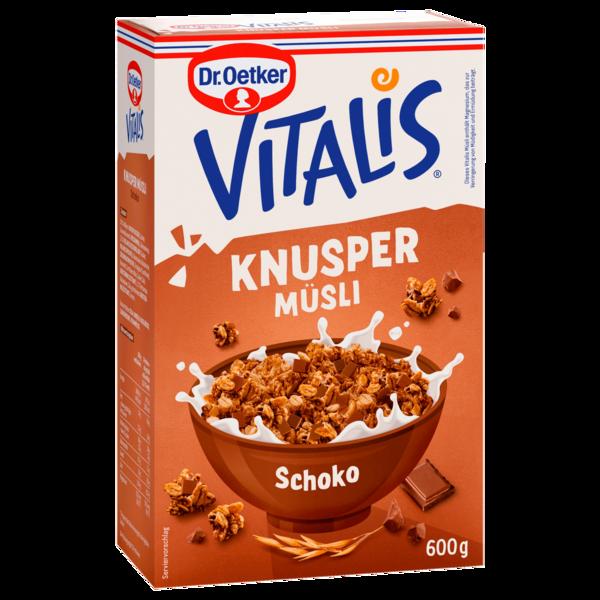 Dr. Oetker Vitalis Knuspermüsli Schoko 600g