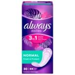 Always Slipeinlagen Fresh & Protect Normal 30 Stück