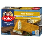 Iglo Goldknusper-Filets Käse-Kräuter 300g