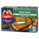 Iglo Goldknusper-Filets Rahmspinat mit dem Blubb 300g