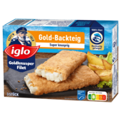 Goldknusper-Filets Goldback 300g MSC