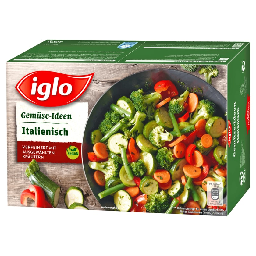 Iglo Gemüse Ideen Italienisch 480g