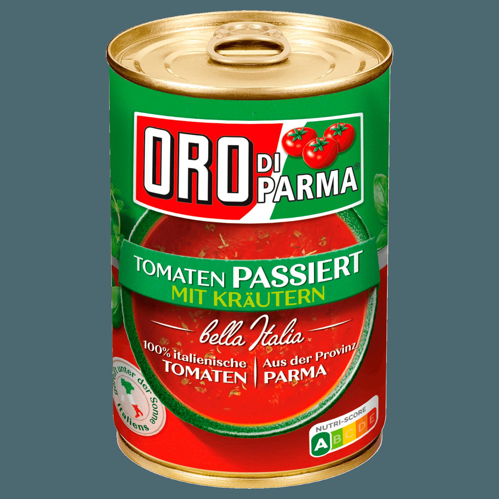 Oro di Parma Passierte Tomaten mit Kräutern 400g