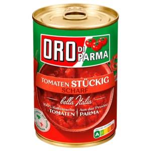 Oro di Parma Geschälte stückige Tomaten 400g