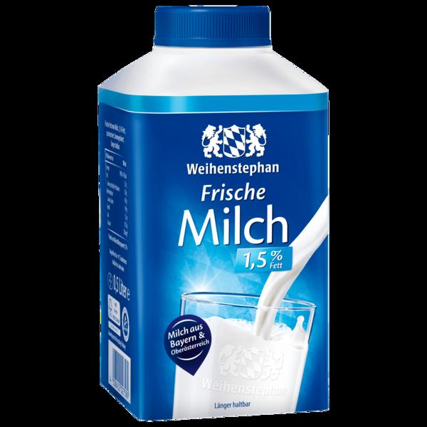 Weihenstephan Frische Milch 1,5% 0,5l