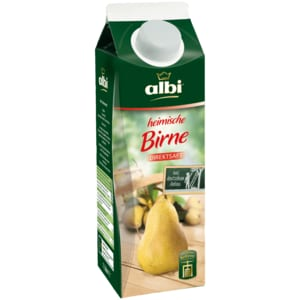 Albi Direktsaft Birne & Williams Christ 1l