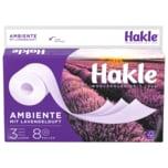 Hakle Ambiente Toilettenpapier 8 Rollen à 150 Blatt, 3 Lagen