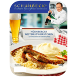 Schuhbecks Nürnberger Rostbratwürstchen+Püree 400g