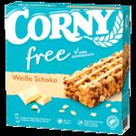 Corny Free Müsliriegel Weiße Schokolade 6x20g
